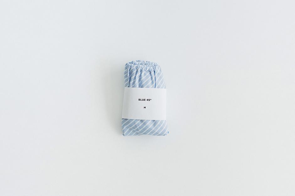TESHIKI パンツ CANDY WRAP BLUE 45°