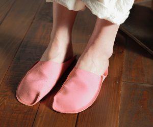 トートーニー ワンピーススリッパ ピンク