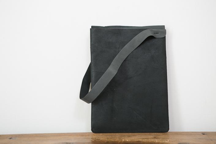 トートーニー バッグ A4 たて ブラック