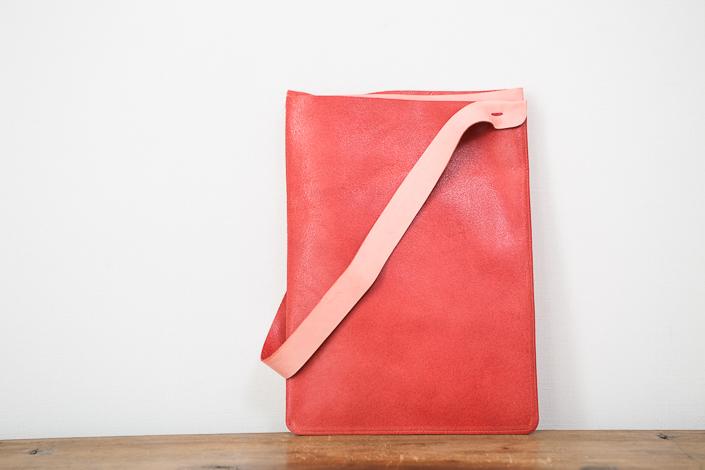トートーニー バッグ A4 たて ピンク