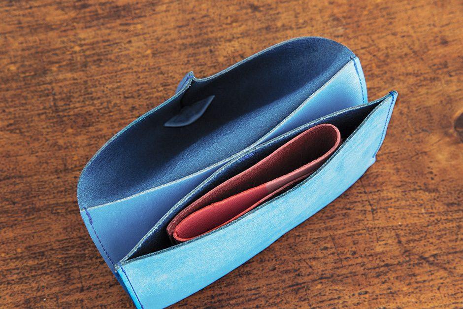 トートーニー 長財布 ライトブルー