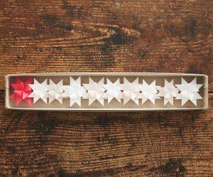 ツヴィリンゲ フレーベルの星「ナチュラル×ピンク」 ひとつづり10個セット