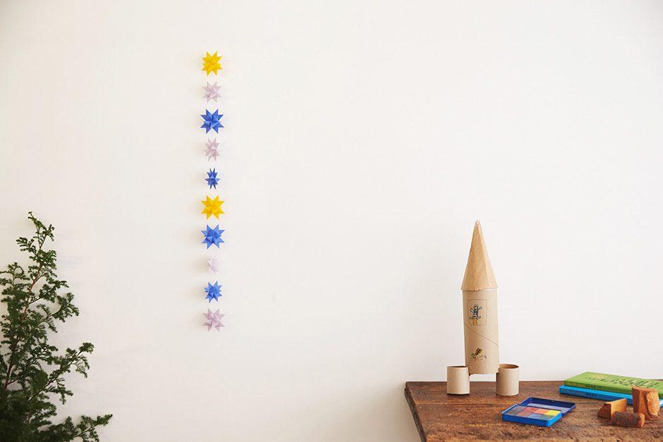 ツヴィリンゲ フレーベルの星「spring 忘れな草」 ひとつづり10個セット