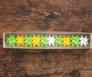 ツヴィリンゲ フレーベルの星「spring たんぽぽ」 ひとつづり10個セット