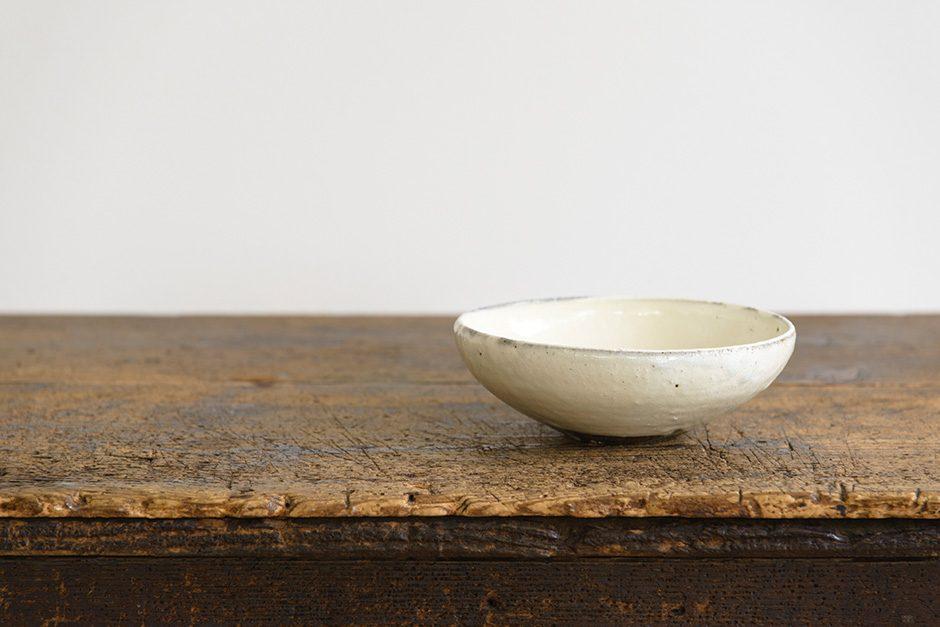 小山乃文彦 粉引 丸鉢