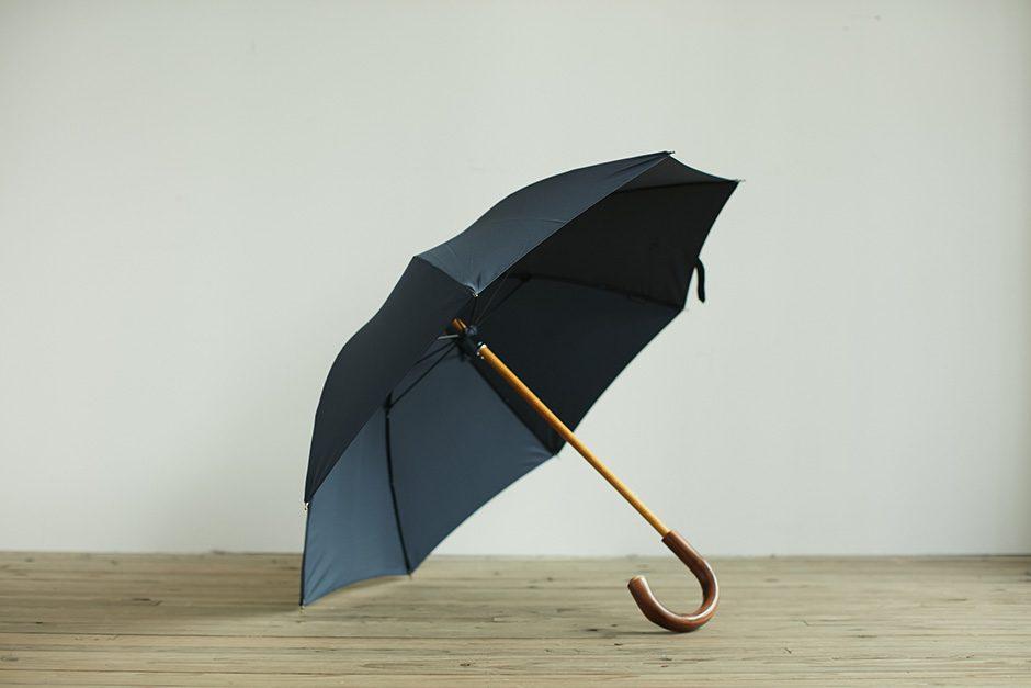 ボンボンストア ミラトーレ 長傘 ネイビー
