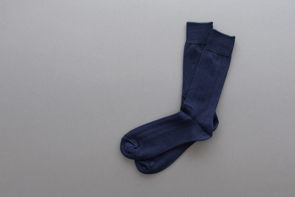 KIMURA` メリノウール リブソックス 25-27cm