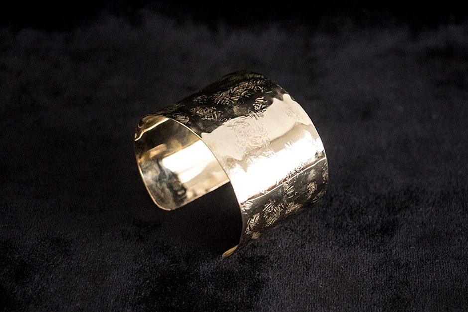 accessories mau 平打ち バングル 4cm
