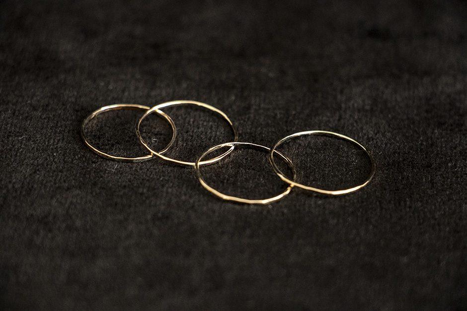 accessories mau K10 シンプルリング