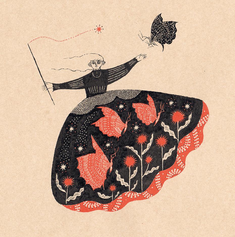 Sanae Sugimoto 「蝶のスカート」