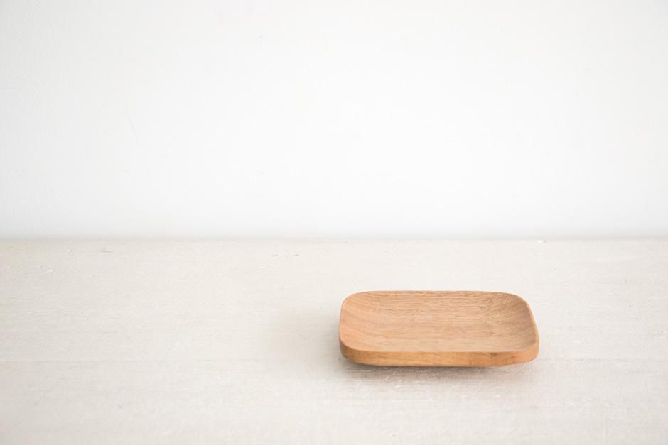 山口 和宏 パン皿(胡桃)