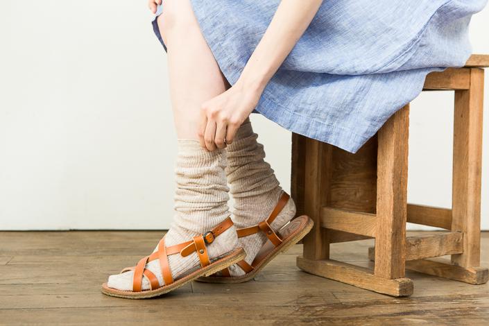 くらすことの冷えとり靴下