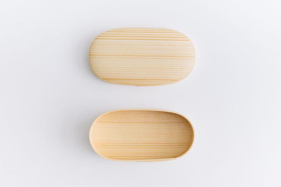 オケクラフトの弁当箱 楕円(小)