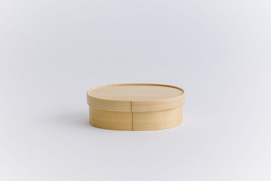 オケクラフトの弁当箱 小判型曲げ輪