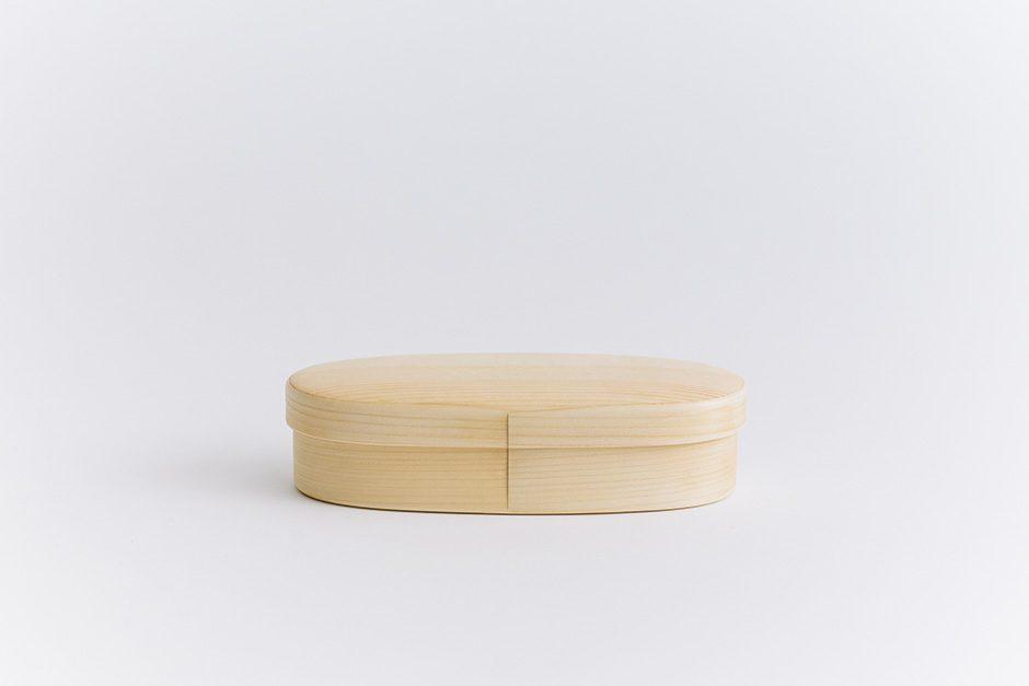 オケクラフトの弁当箱 楕円 (中)