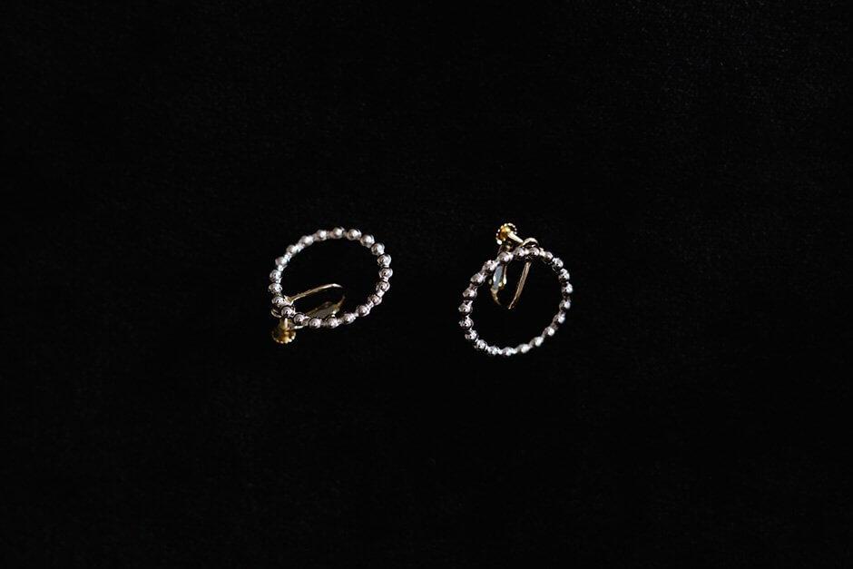 accessories mau つぶつぶイヤリング