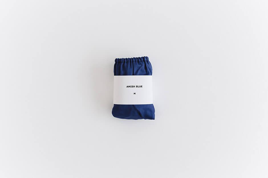 TESHIKI パンツ AMISH COLOR AMISH BLUE
