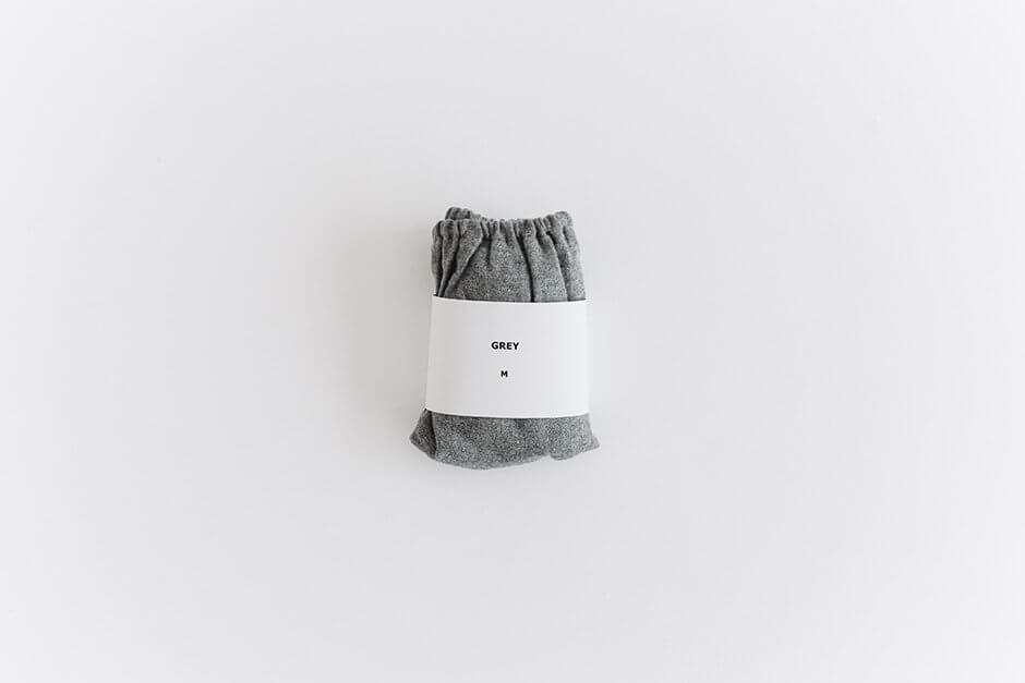 TESHIKI パンツ WARM COTTON GREY