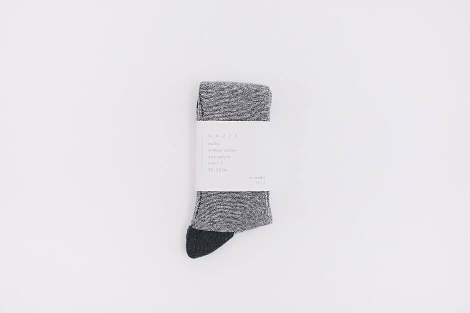 F/style ガーゼな靴下