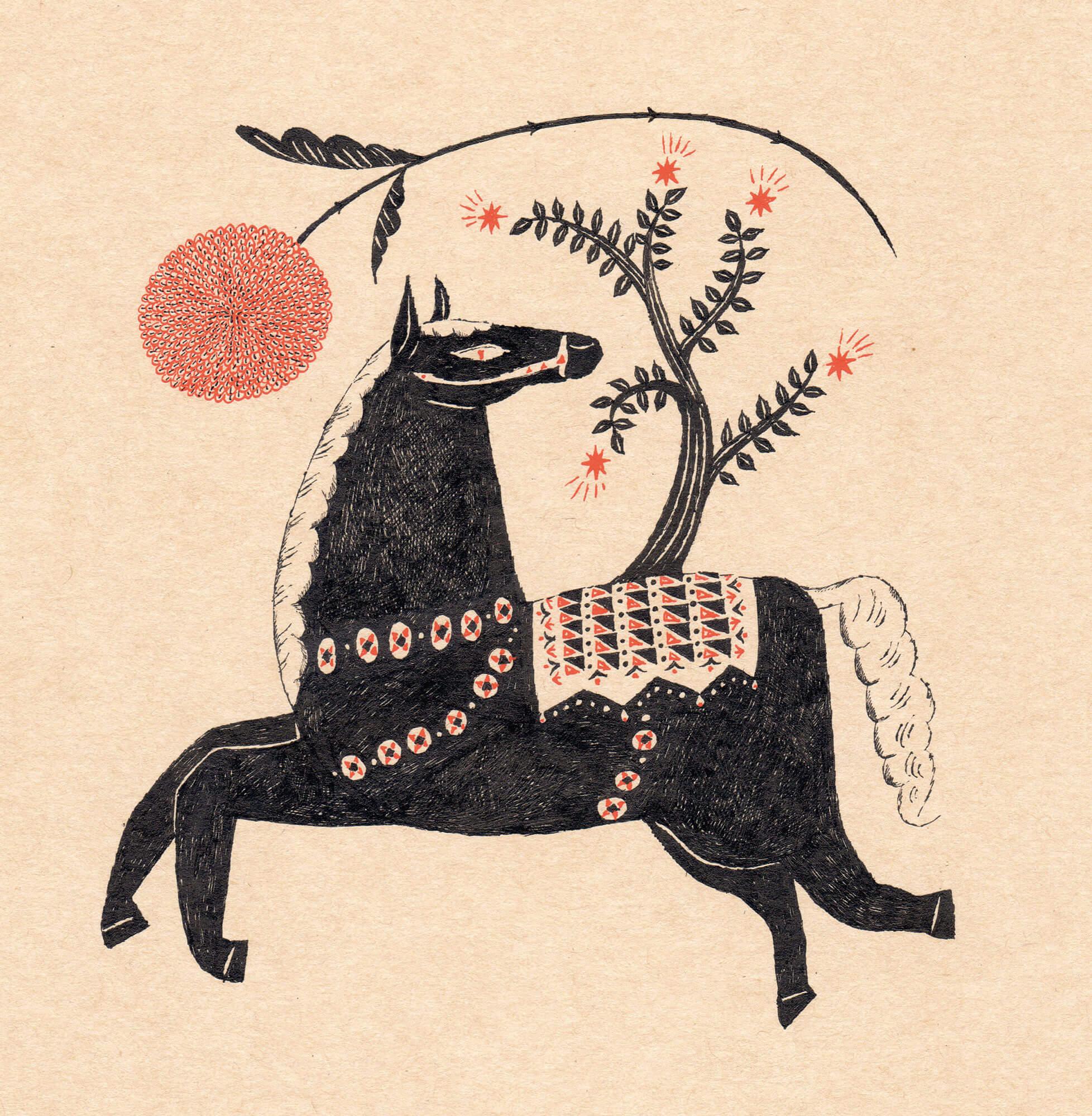 Sanae Sugimoto 「夜警馬」