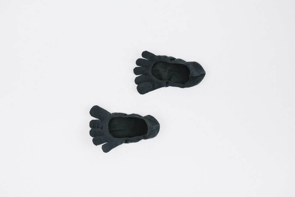 Glück und Gute 「足の肌着」絹と綿 フットカバー