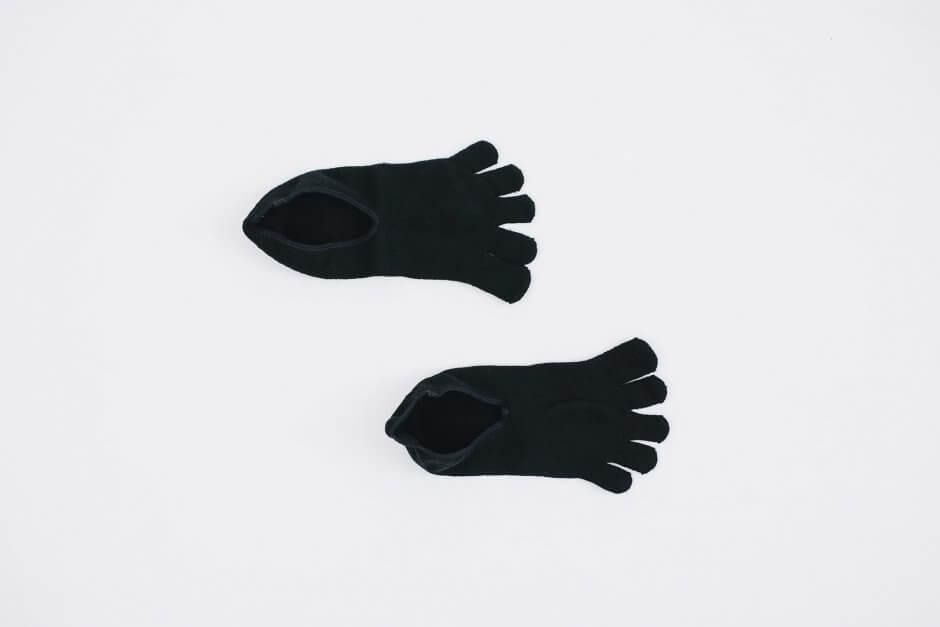 Glück und Gute 「足の肌着」絹と綿 ショート