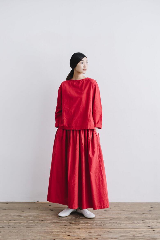 miiThaaii ベルマ ロングギャザースカート