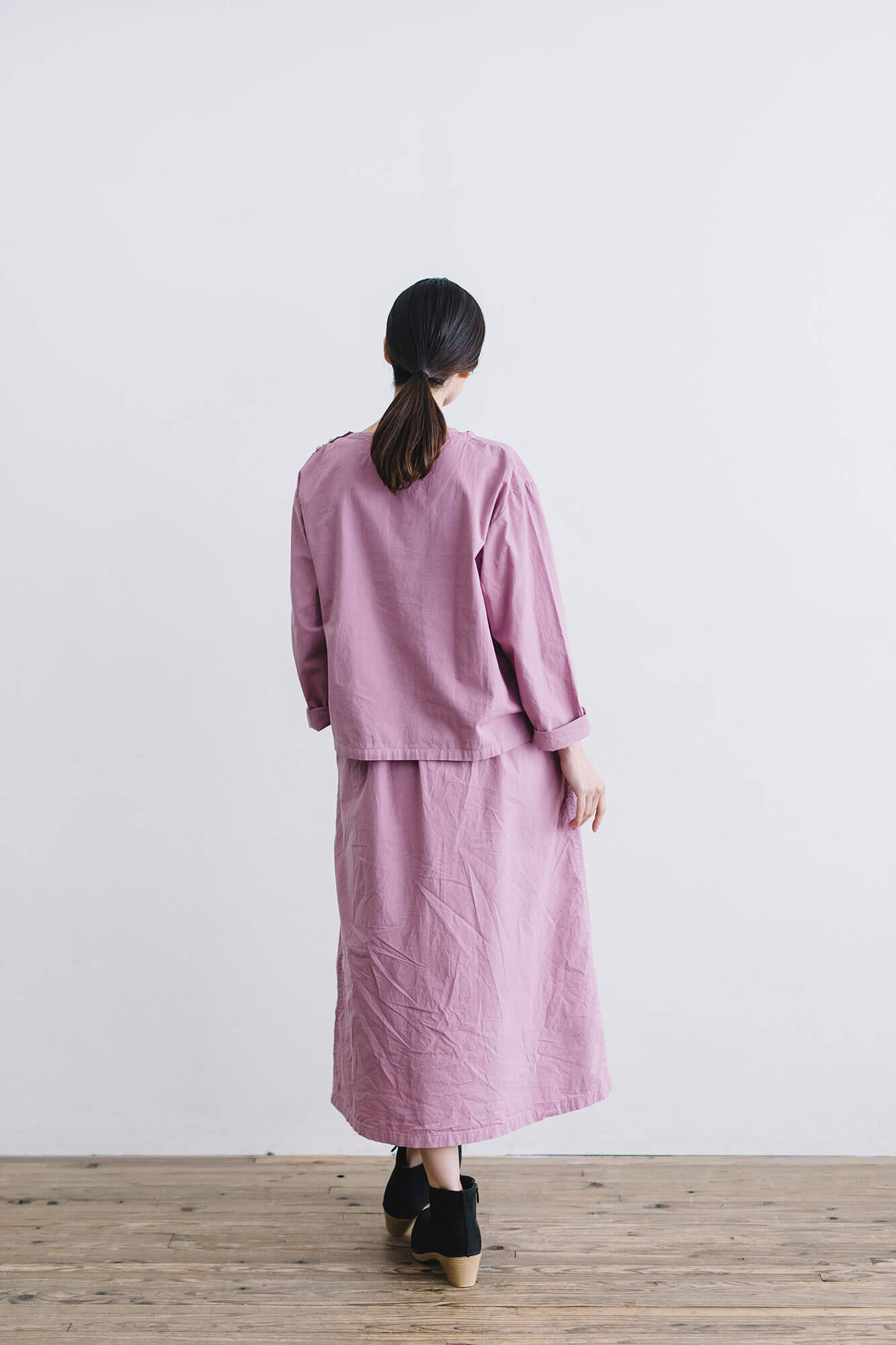 miiThaaii アーシャ シャツ