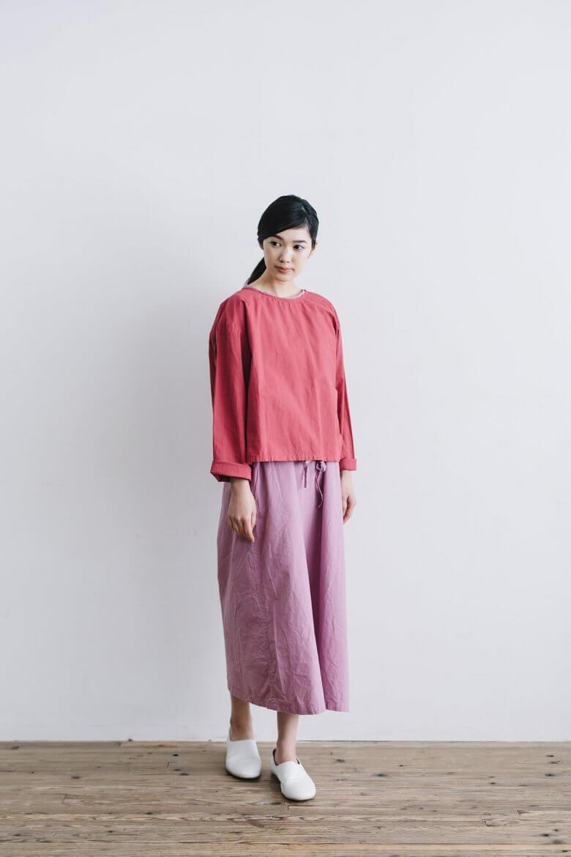miiThaaii ディプティ タイ付きブラウス 別注カラー