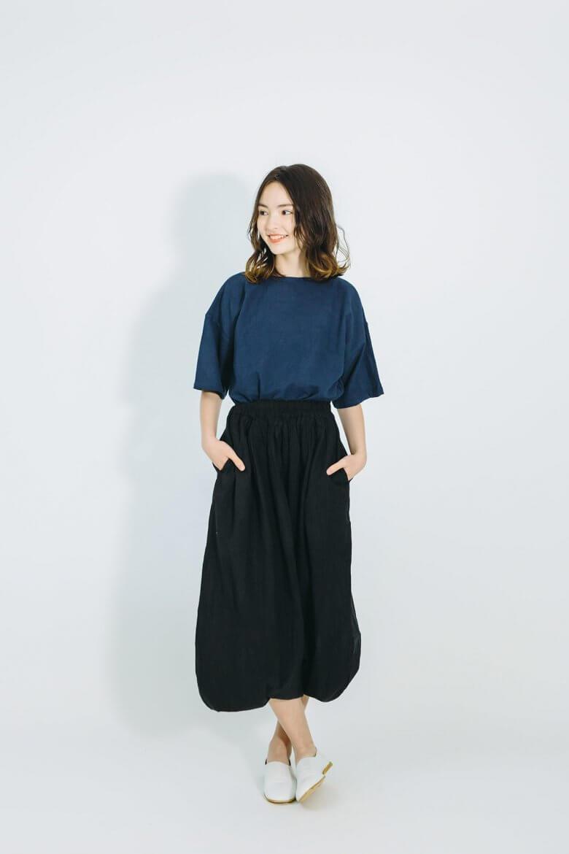 【送料無料】 ヂェン先生の日常着 バルーンパンツ