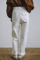 Charpentier de Vaisseau Bert コットン パンツ ホワイト