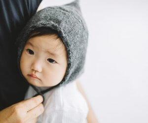 PUENTE Rueca 手紡ぎ赤ちゃん帽