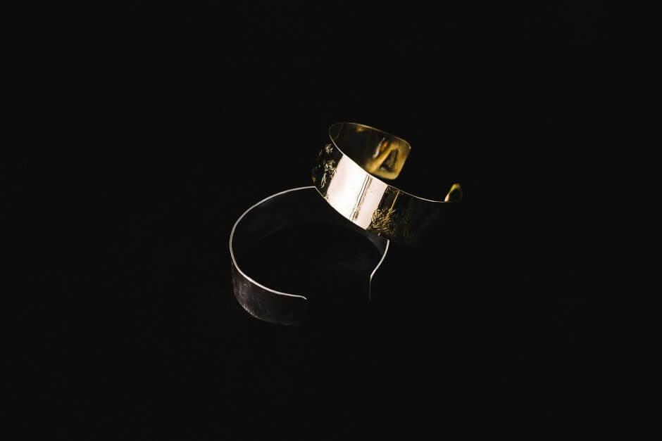 accessories mau 平打ち バングル 2cm