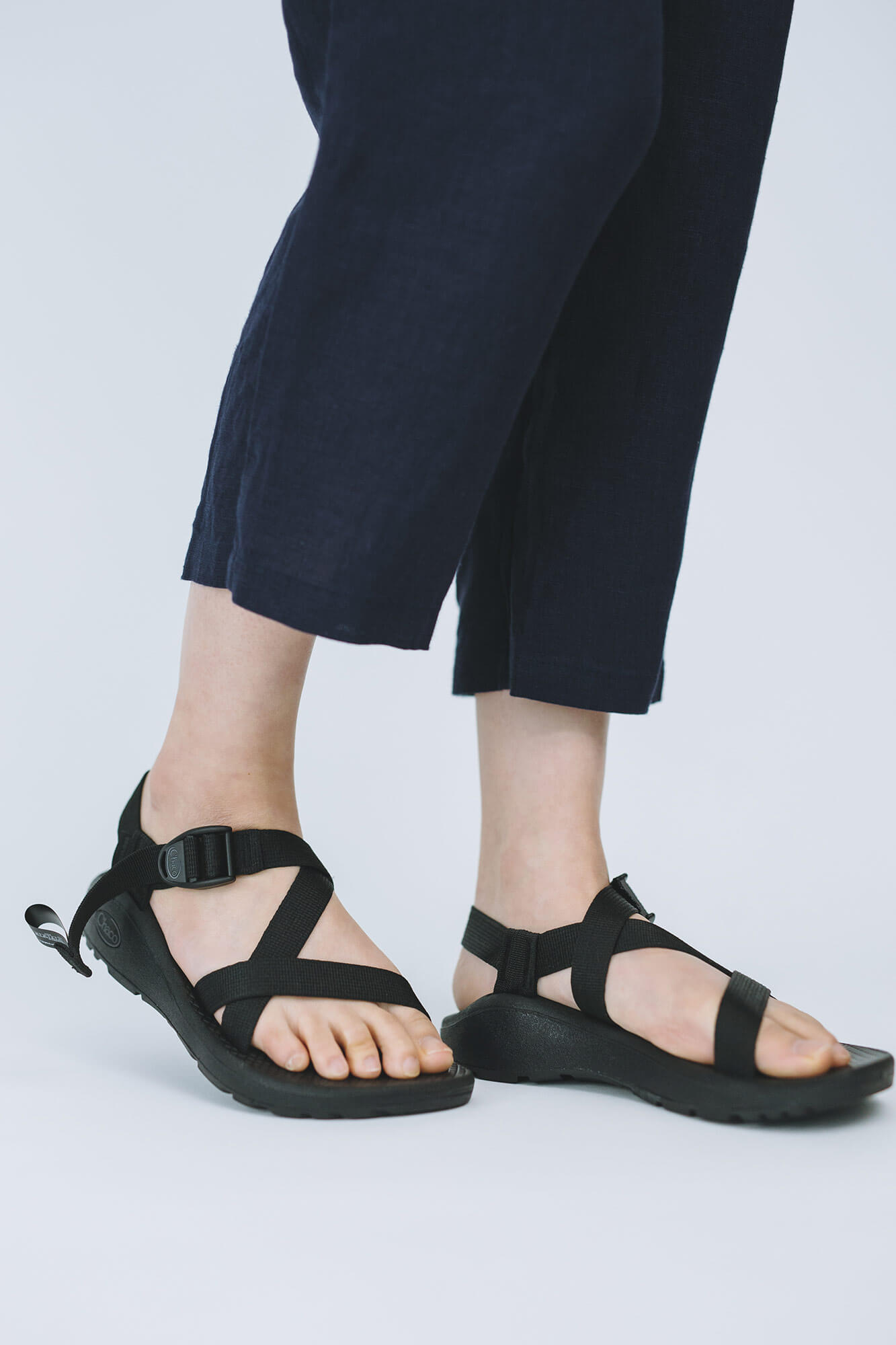 Chaco ZCLOUD SOLID BLACK