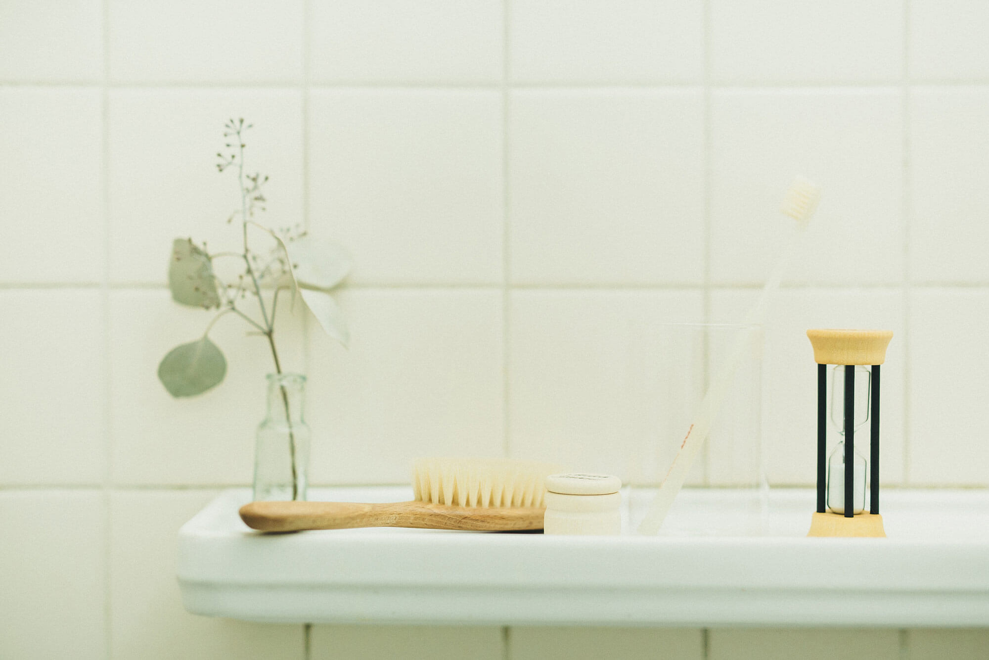 Redecker 歯磨き用砂時計 2分