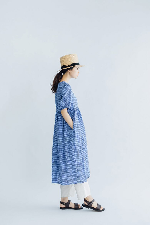 fog linen work アニカ ワンピース