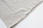 F/style ホールガーメントの綿ニット 丸首(長袖)