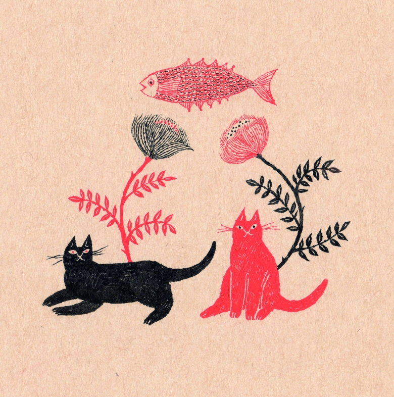 Sanae Sugimoto 「猫たち」