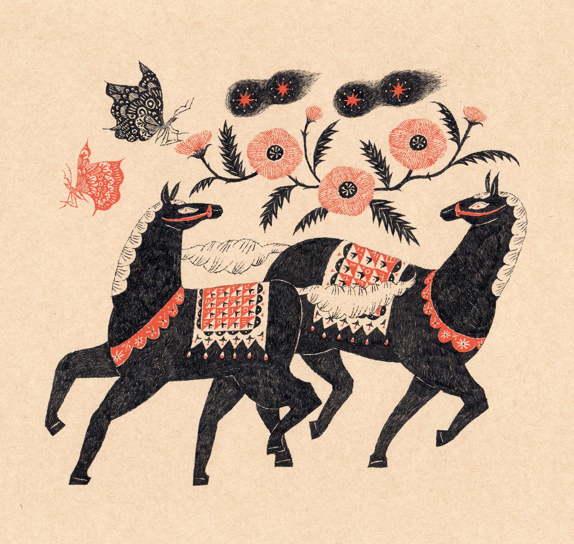 Sanae Sugimoto 「馬のロンド」