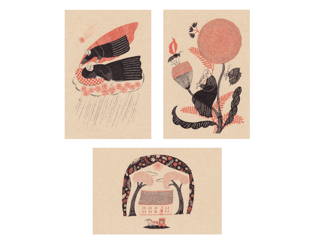 Sanae Sugimoto「ポストカードセット(A)」