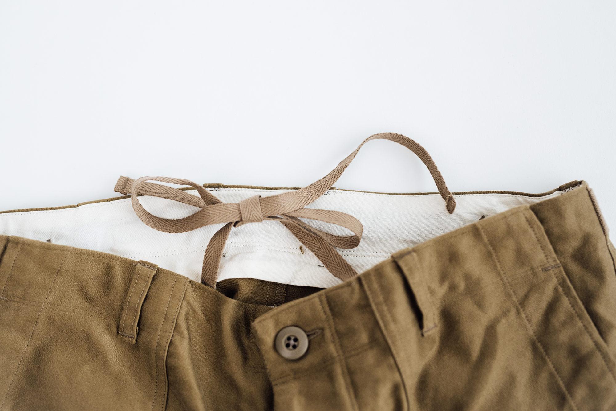 maillot モレスキン イージーベーカーパンツ