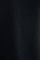 evam eva ウール サルエルパンツ ブラック
