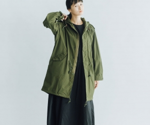 YAECA LIKE WEAR M51パーカ