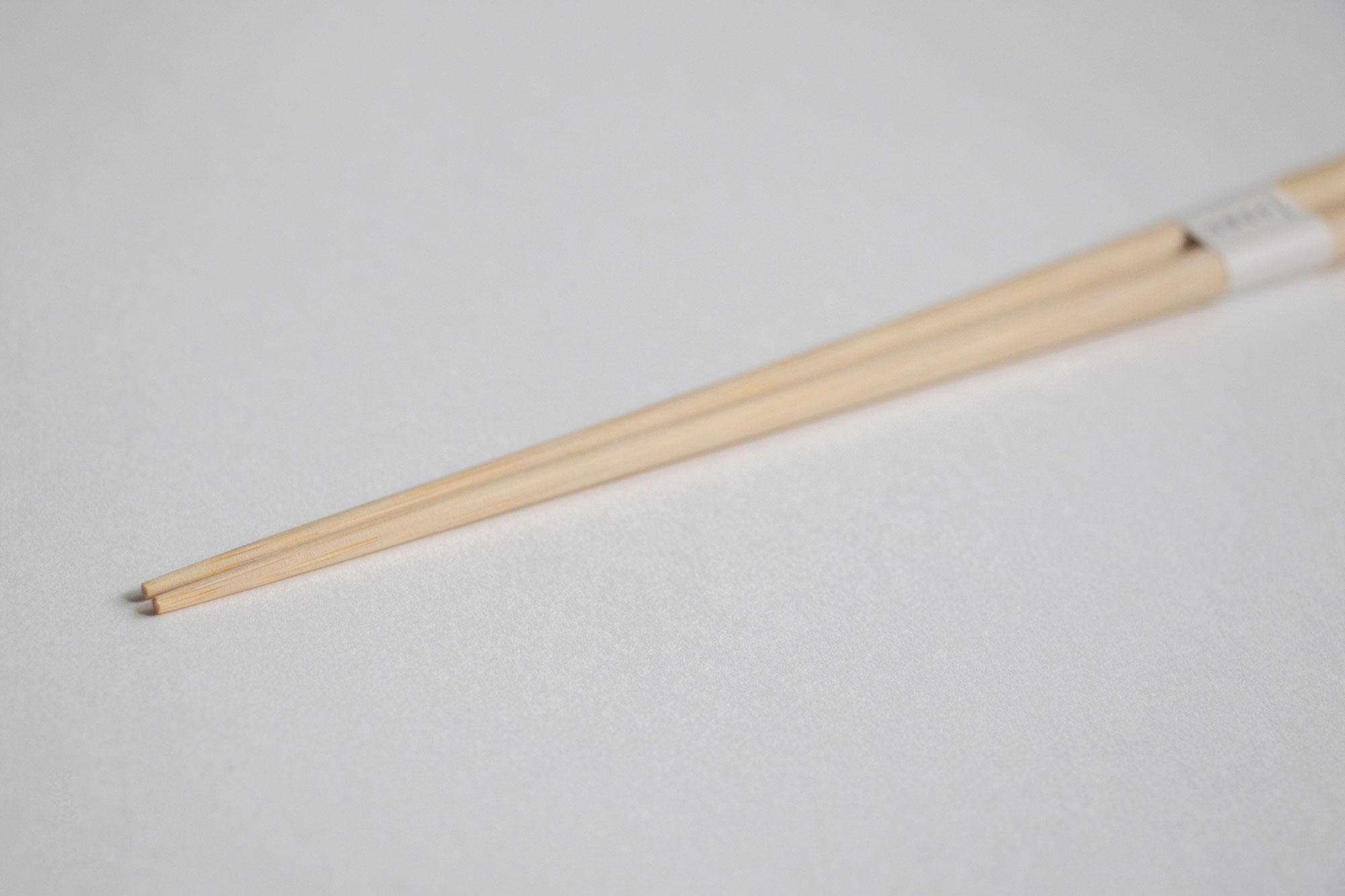 ヤマチク 盛付箸(無塗装)