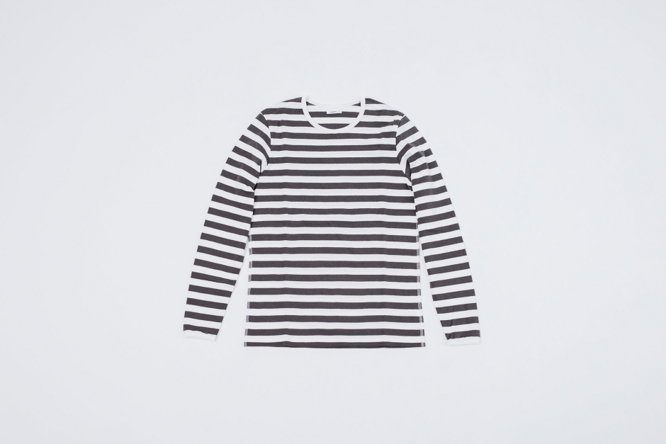 maillot ボーダー ロングスリーブ Tシャツ