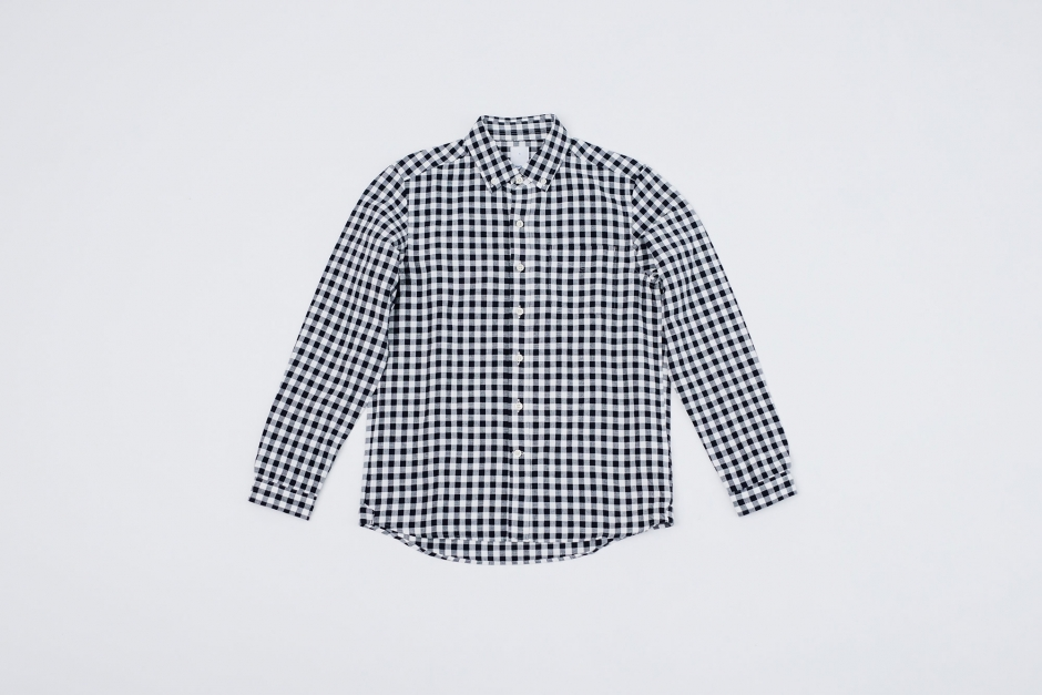 maillot サンセット ビッグギンガム BDシャツ