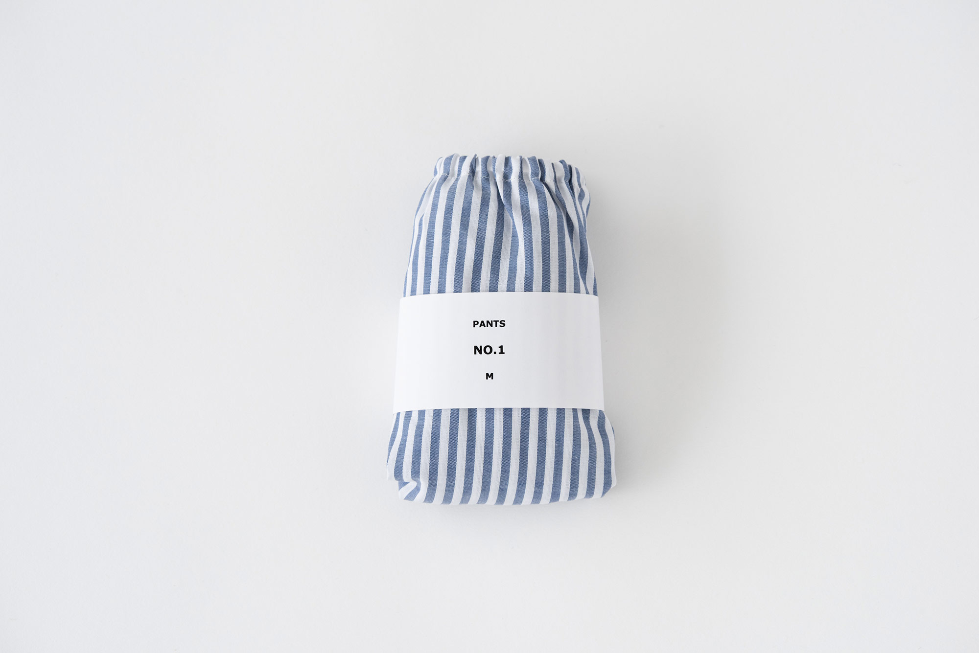 TESHIKI パンツ NAVY STRIPE No.1