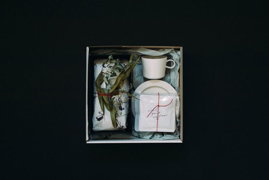 【12月17日販売開始】 Bion ボックス B (シュトレン / ドリップパックコーヒー / カップ&ソーサー)