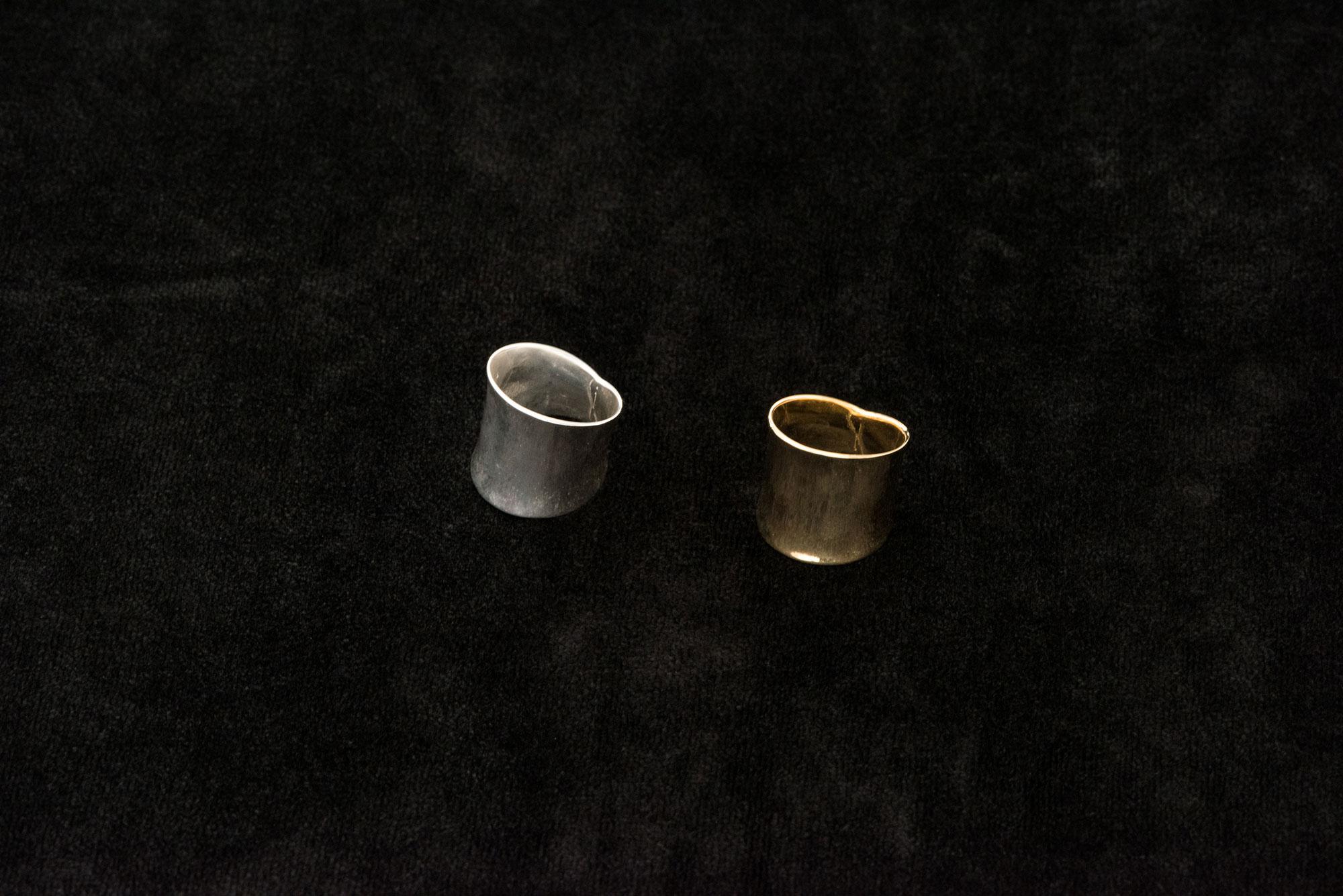 accessories mau 平打ちリング