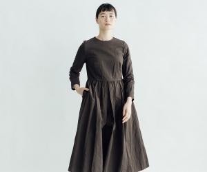 YAECA WRITE タックドレス